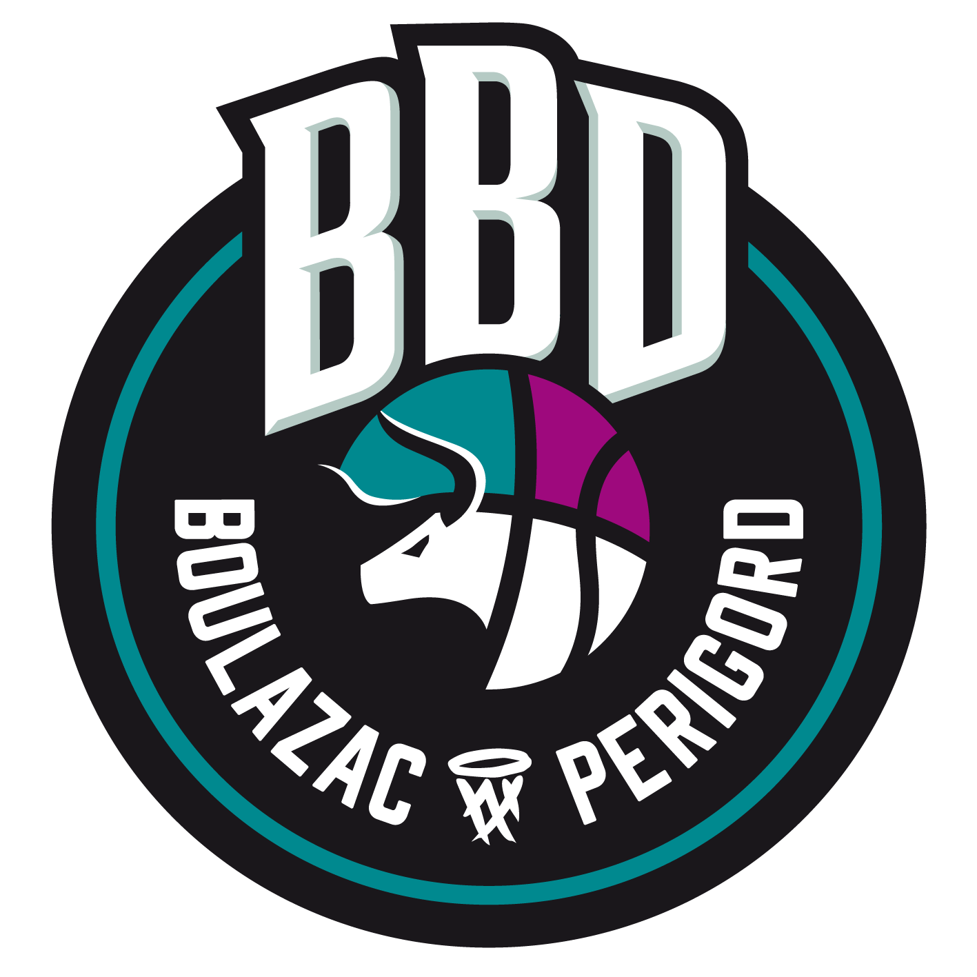 Logo Boulazac Basket Dordogne association